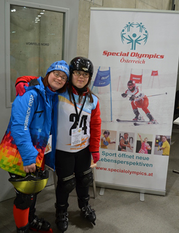 Foto Special Olympics Internationale Winterspiele